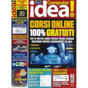 Computer idea! - n. 237 - dal2 settembre al 15 settembre 2021 - ogni 14 giorni sempre il giovedì