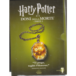 I dvd Sorrisi collection - n. 13 -Harry Potter e i doni della morte - parte 1-maggio  2021 - settimanale - settima uscita