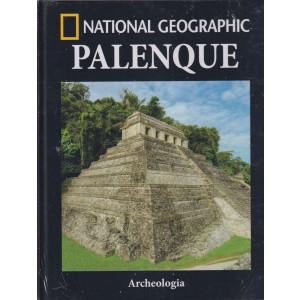 National Geographic -Palenque -  n. 34-Archeologia -  settimanale - 17/9/2021 - copertina rigida