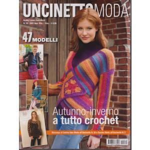 Hobby Lavori Femminili  - Uncinetto moda- trimestrale -  n. 16 -  novembre - dicembre 2021