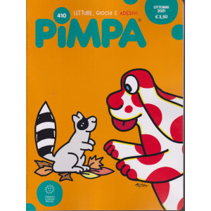 Pimpa - n. 410 -ottobre  2021 - mensile