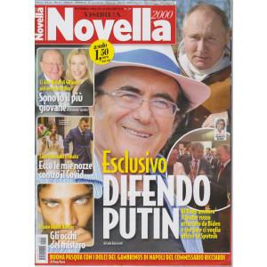 Novella 2000 - n. 15 - settimanale -31 marzo  2021