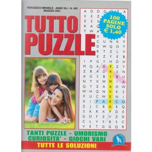 Tutto Puzzle - n. 480 - mensile -maggio   2021 - 100 pagine