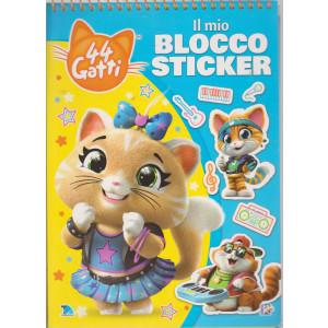 44 Gatti - Il mio blocco sticker - n. 9 - bimestrale -25/7/2021
