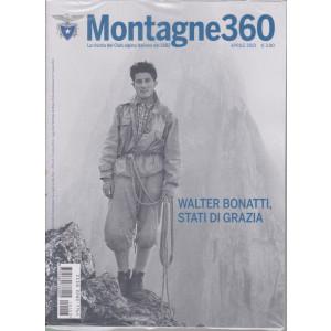 Montagne 360 - n. 103 - aprile   2021 - mensile -
