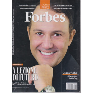 Forbes + Forbes - 100 eccellenze italiane 2021  - n.40 -gennaio 2021 - mensile - 2 riviste
