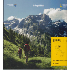 Parchi d'Italia - n. 1 - Dolomiti Bellunesi - Stelvio -