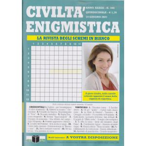 Civiltà enigmistica - n. 446 - quindicinale - 19 giugno 2021