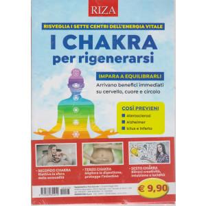 Riza Speciale - I chakra per rigenerarsi- n. 23 -aprile - maggio  2021