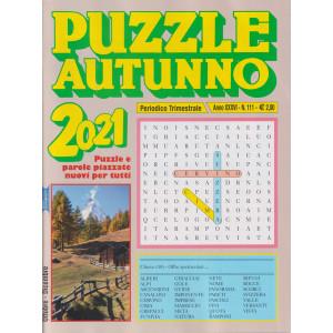 Puzzle autunno 2021 - n. 111 - trimestrale - ottobre - dicembre  2021