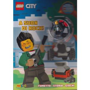 Lego Word - City - n. 9 -A suon di rock! -  bimestrale -7 ottobre 2021
