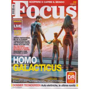 Focus - n. 349 - novembre  2021 - mensile