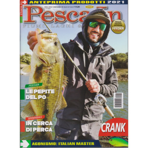 Pesca In - n. 1 - mensile -gennaio 2021