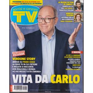 Sorrisi e Canzoni TV -n. 42 - settimanale  - 19 ottobre 2021