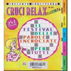 Raccolta Cruci relax - n. 50 - bimestrale -dicembre 2018/febbraio 2019 - 252 pagine - 300 cruciverba