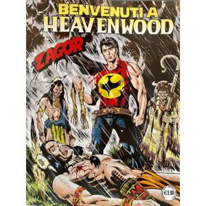 Zagor - Benvenuti  a Heavenwood - n. 716 - mensile - 2 dicembre 2020