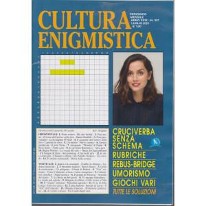 Cultura enigmistica - n. 337 -luglio   2021 - mensile