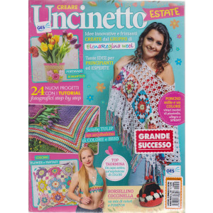 Lavori Femminili Extra - Creare uncinetto estate  - n. 50  - bimestrale - 2 riviste