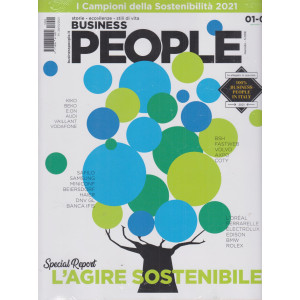 Business People - n. 2 -  - mensile - gennaio - febbraio 2021 + in allegato lo speciale 100% business people in Italy - 2 riviste