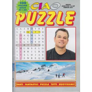 Ciao Puzzle - n. 369 -febbraio 2021 - 100 pagine