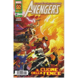 Gli eroi più potenti della terra - Avengers  - n. 136 - Il cuore della fenice - 10 giugno 2021 - mensile