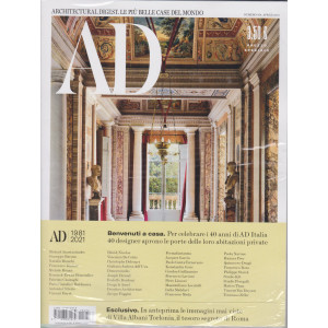 Ad-Architectural Digest - n. 474- -  aprile  2021- mensile + Ad outdoor - 2 riviste