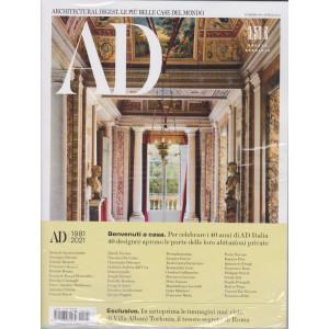 Ad-Architectural Digest - n. 474- -  aprile  2021- mensile + Ad outdoor - 2 riviste