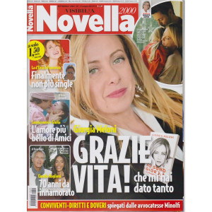 Novella 2000 - n. 21 - settimanale -12 maggio 2021