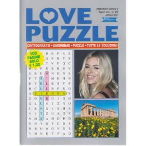 Love Puzzle - n. 352  - mensile - aprile 2021- 100 pagine