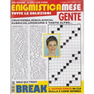 Enigmistica Mese Gente - n. 5 - 5 maggio  2021 - mensile - 100 pagine