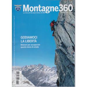 Montagne 360 - n. 105 - giugno  2021 - mensile -
