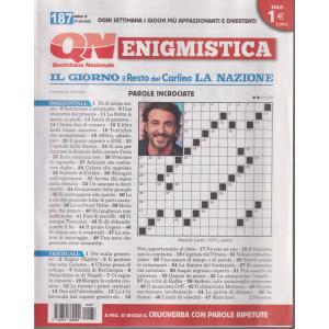 Enigmistica - n. 187 -27/9/2021- settimanale