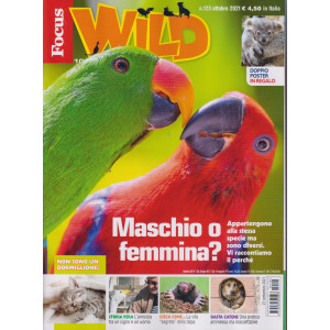 Focus Wild - n. 110 -ottobre 2021