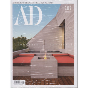 Ad-Architectural Digest - n. 473- Geometrie tropicali -  marzo 2021- mensile