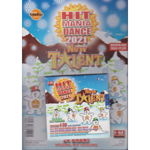 Hit Mania estate 2020 - New Talent - n. 80 - bimestrale 4/12/2020 - include 4 cd + rivista