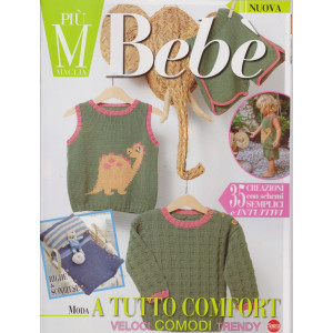 Piu' maglia bebe' - n. 3 - bimestrale - maggio - giugno 2021