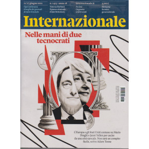 Internazionale - n. 1413 -11/17  giugno    2021 - settimanale