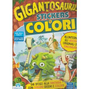 Gigantosaurus  - Stickers e  Colori - n. 2  - gennaio - febbraio 2021 - bimestrale -