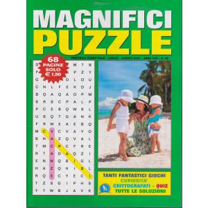 Magnifici Puzzle - n. 98 - bimestrale - luglio - agosto  2021 - 68 pagine