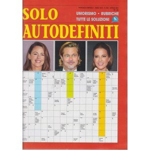 Solo autodefiniti - n. 300 - aprile 2021- mensile