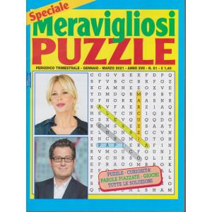 Speciale Meravigliosi Puzzle - n. 51- trimestrale - gennaio - marzo 2021