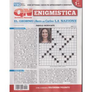 Enigmistica - n. 190 -18/10/2021- settimanale