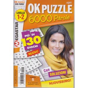 Ok puzzle - 6000 parole -Livello 1-2 -  n. 5- marzo - aprile 2021 - bimestrale