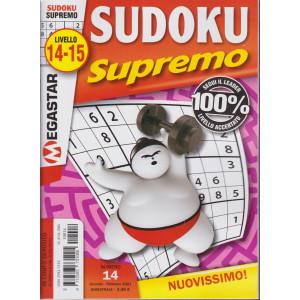 Sudoku Supremo - n. 14 - livello 14-15 - bimestrale- gennaio - febbraio 2021