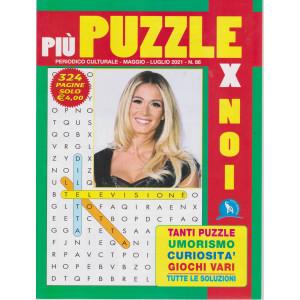 Piu' puzzle per noi - n. 86 - maggio - luglio  2021 - 324 pagine
