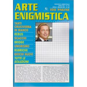 Arte Enigmistica - n. 213 - bimestrale - aprile - maggio  2021 - 100 pagine
