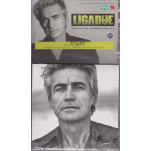 Cd Sorrisi collezione 2 - Ligabue - Start - 22° cd  - Formato digipack + libretto inedito - n. 35 - settimanale - settembre 2021