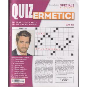 Quiz Ermetici - n. 4 -agosto - ottobre 2021- trimestrale