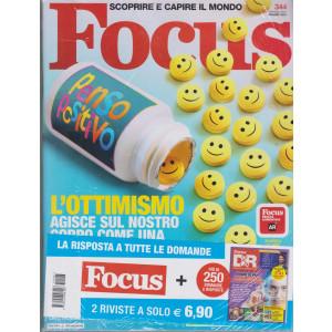 Focus + Focus D&R - n. 344 - giugno 2021 - 2 riviste