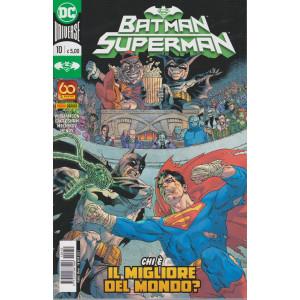 Batman/Superman - n. 10 - Chi è il migliore del mondo? - mensile - 18 marzo 2021